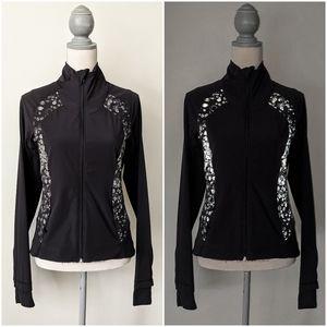 RARE Lululemon Sportif Reflective Jacket Bubbles